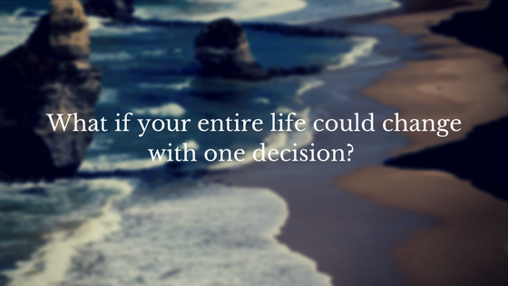 Decide today to meet Jesus just as you are. -