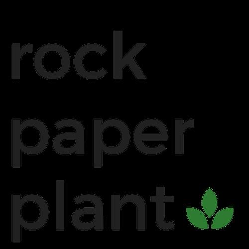 Rock Paper Plant