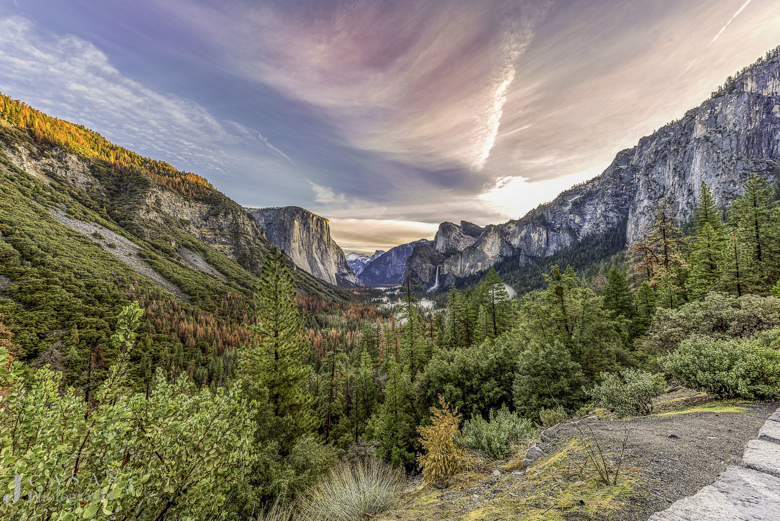 Yosemite's Tunnel View I