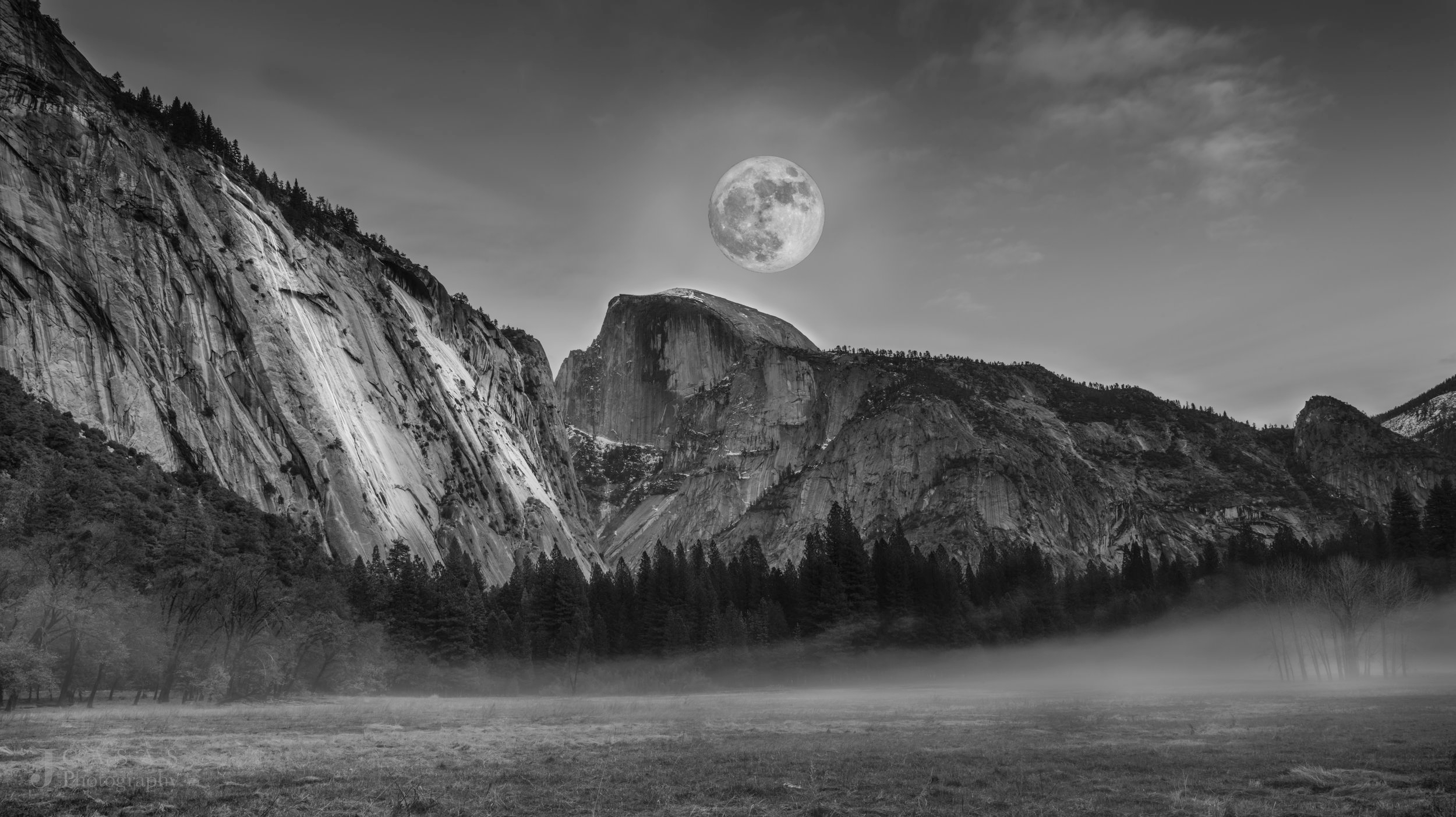North Face Full Moon Rising