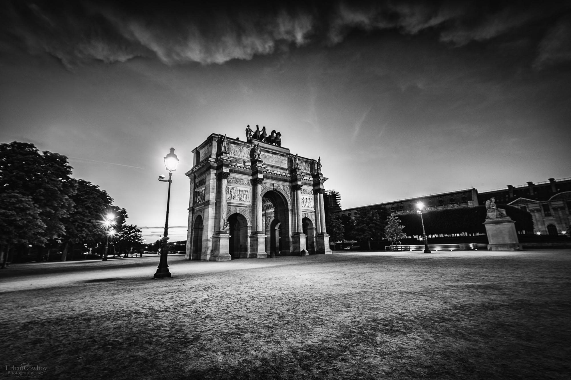Arc du Triomphe du Carrousel BW.jpg