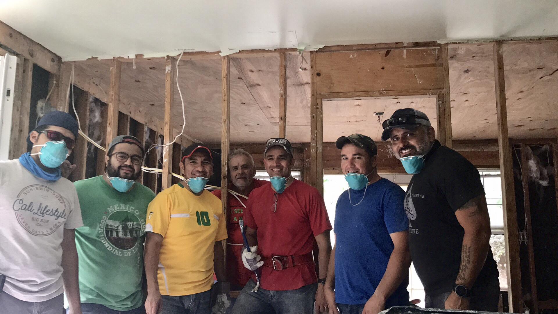 The Vida Nueva Ministries Volunteer Team
