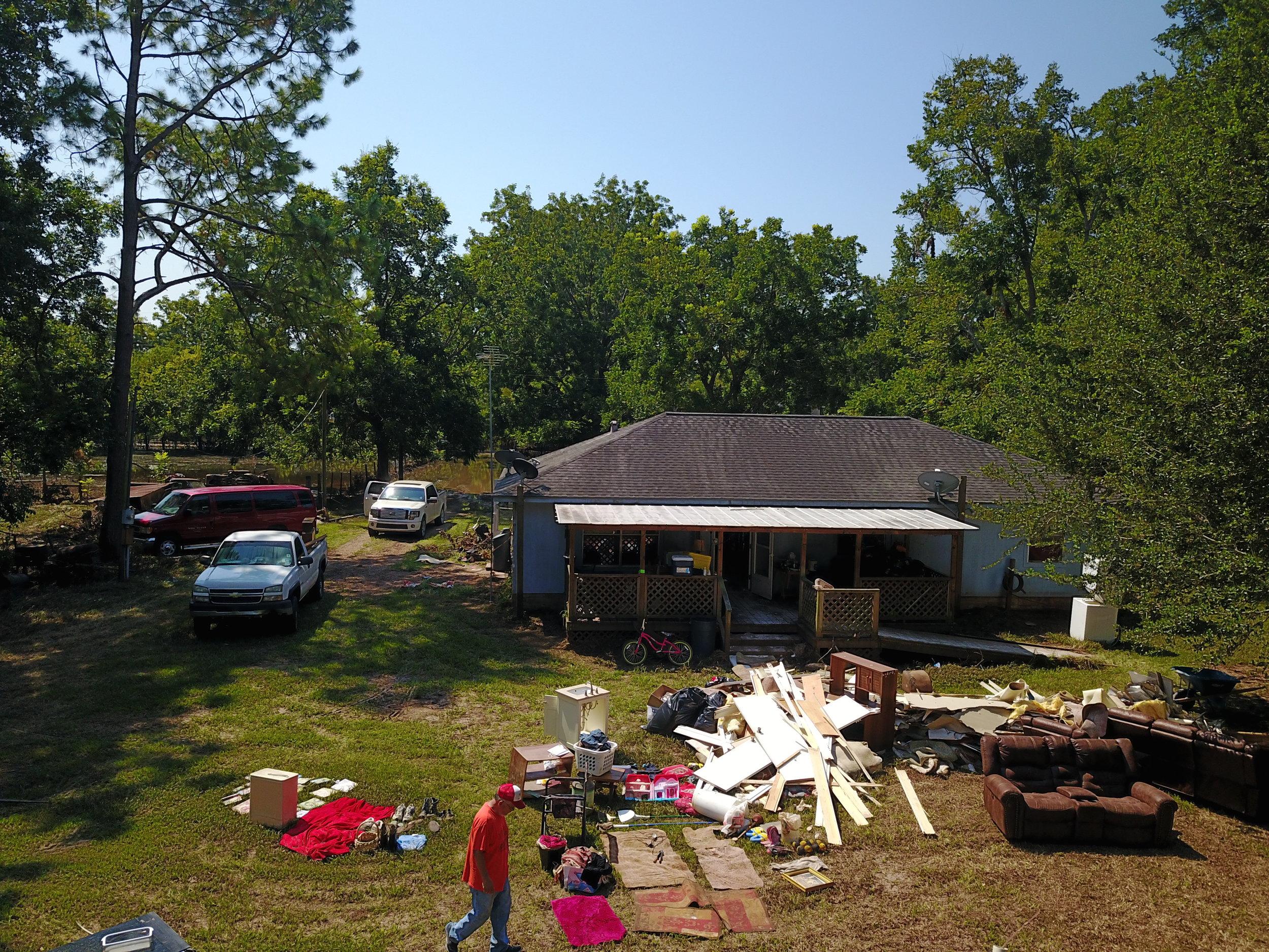 A pile of damage