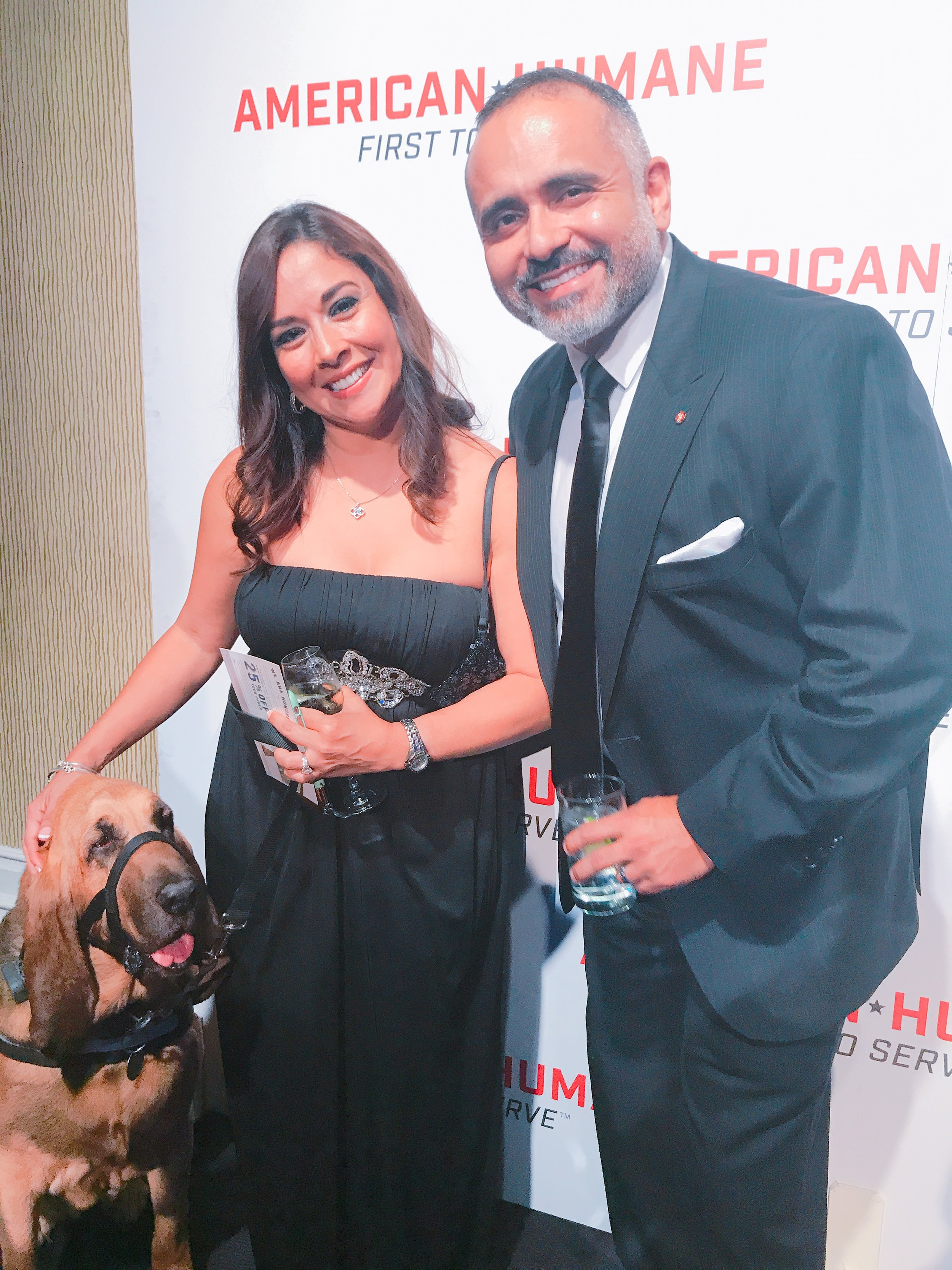 Norma and I at the awards...