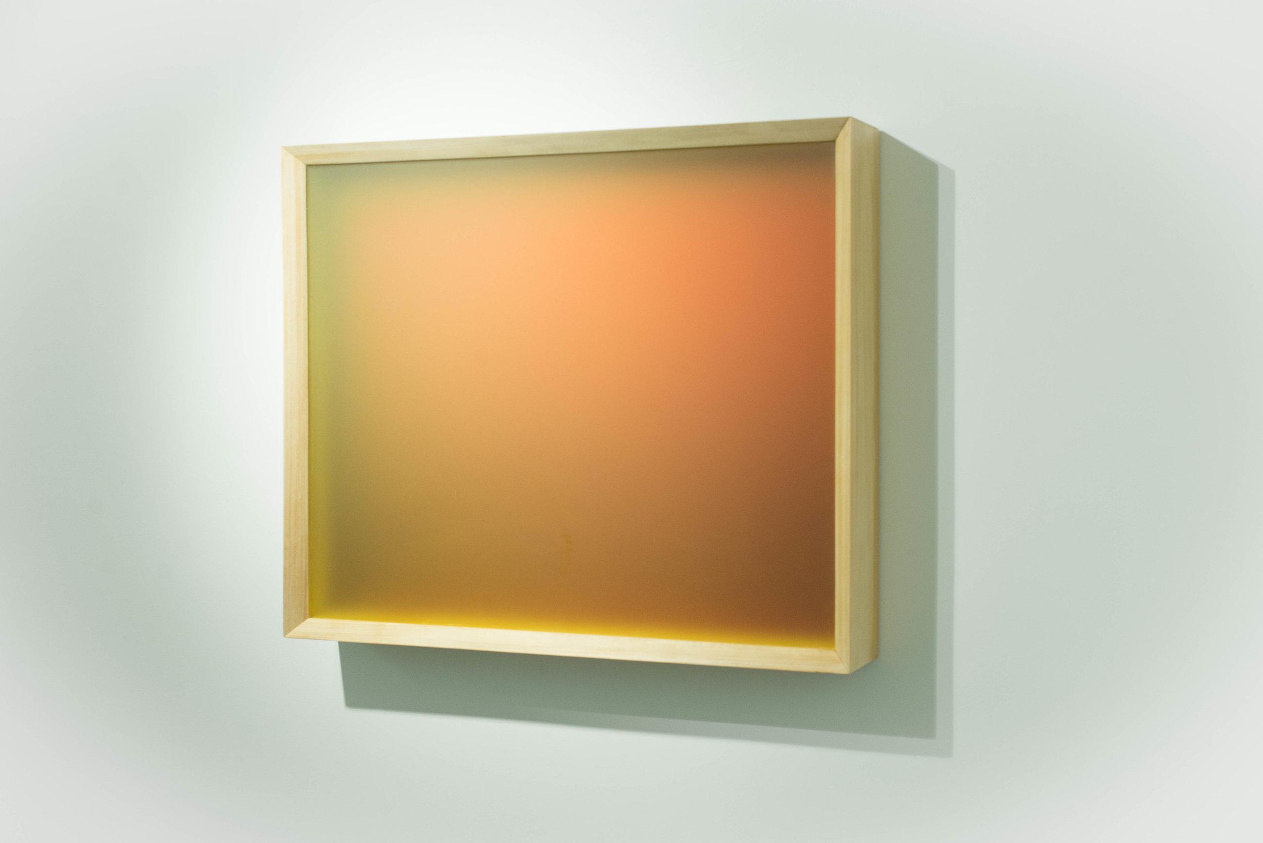 No title (Light – Space Modulator), 2017.