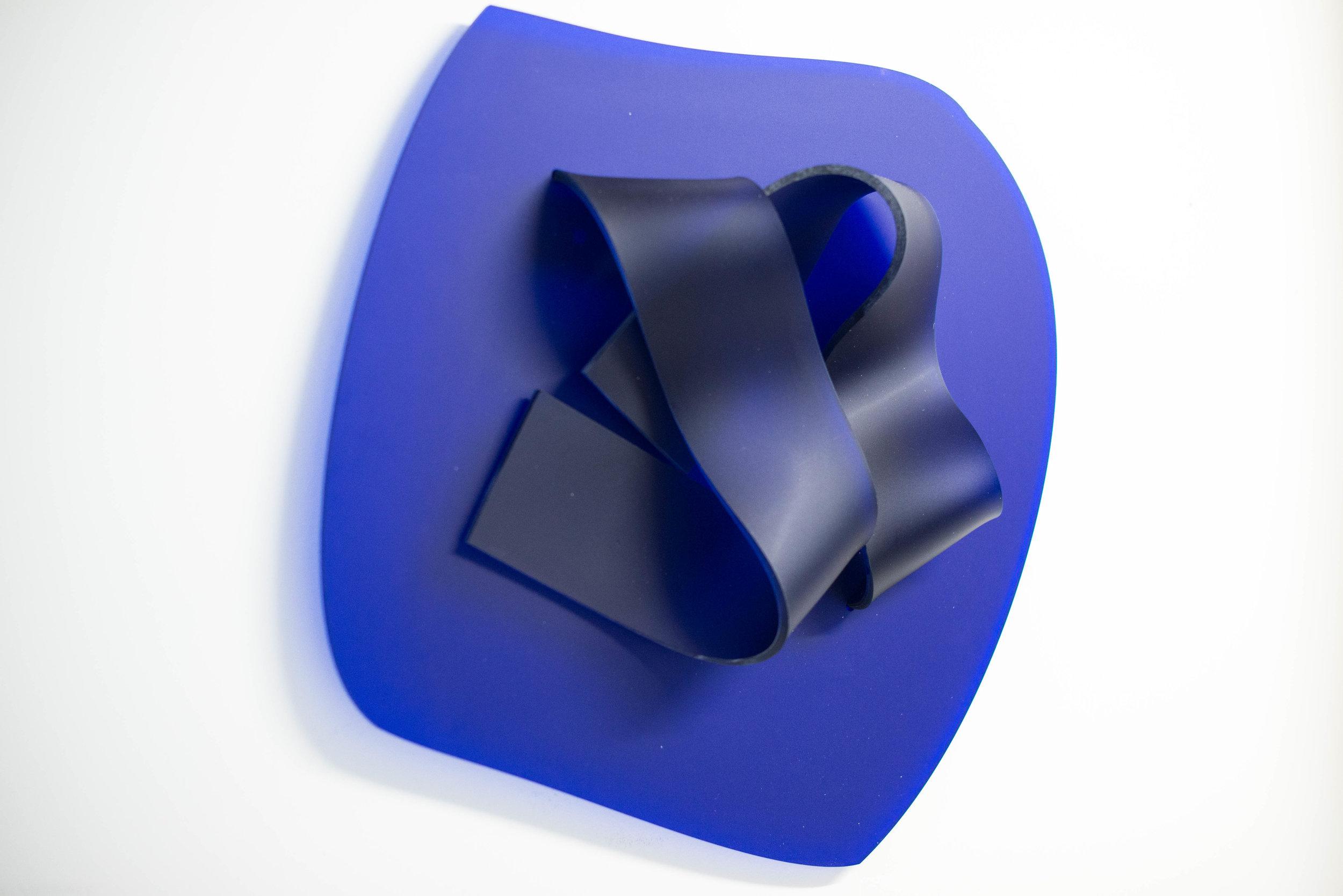 No title (Blue), 2017.
