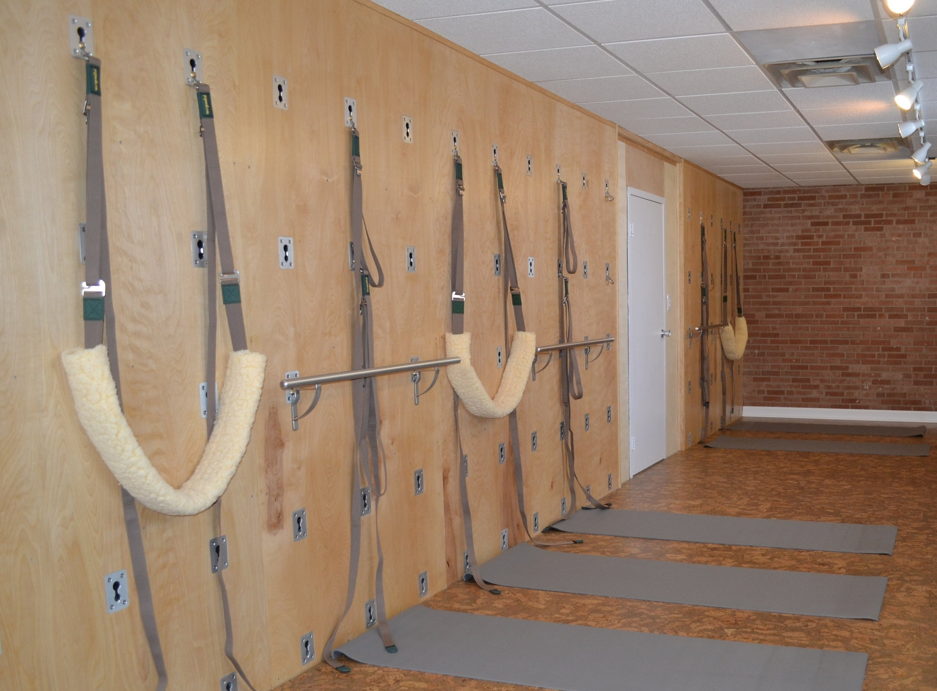 Beautiful new space at beYoga in Upper Arlington provides a new tool that you can all try:  Yoga Wall