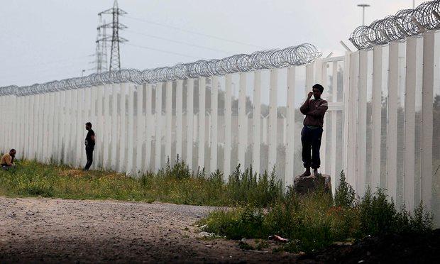 Photograph: Regis Duvignau/Reuters
