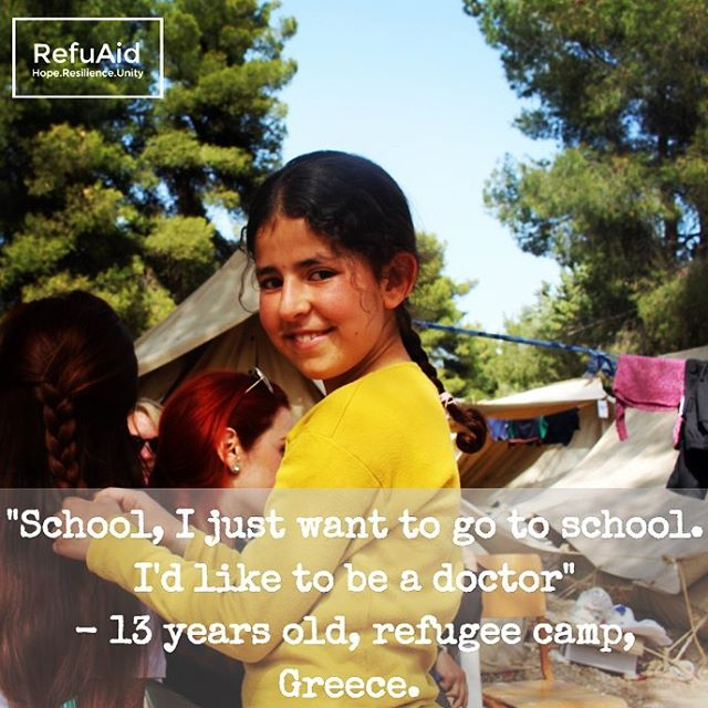 A young refugee and her dreams