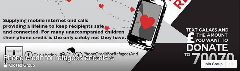 Phone Credit For Refugees
