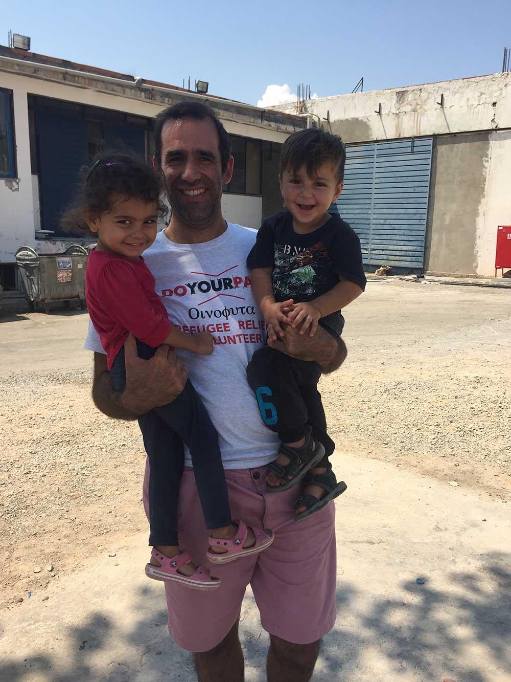 Oinofyta Refugee Camp Greece
