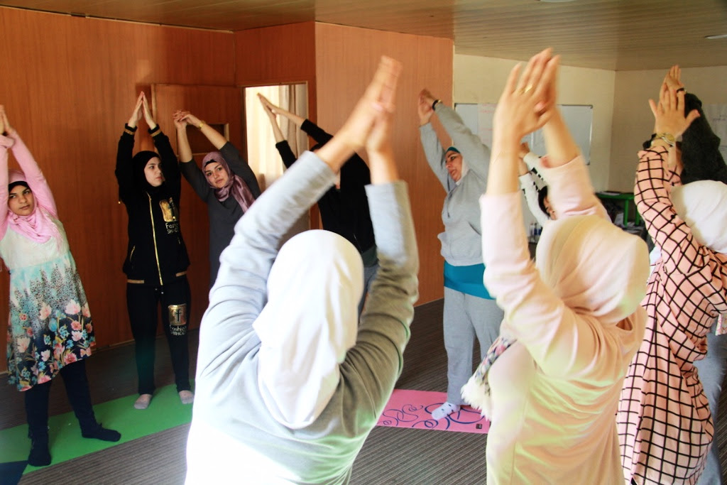 yoga for peace lebanon project