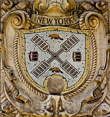 New York City Shield (on the International Mercantile Marine Company Building)