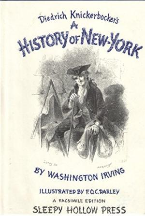 Washington Irving's satire written by pseudonym, Diedrich Knickerbocker