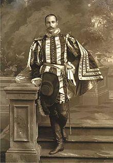John Jacob Astor IV dressed as King Henry IV of France