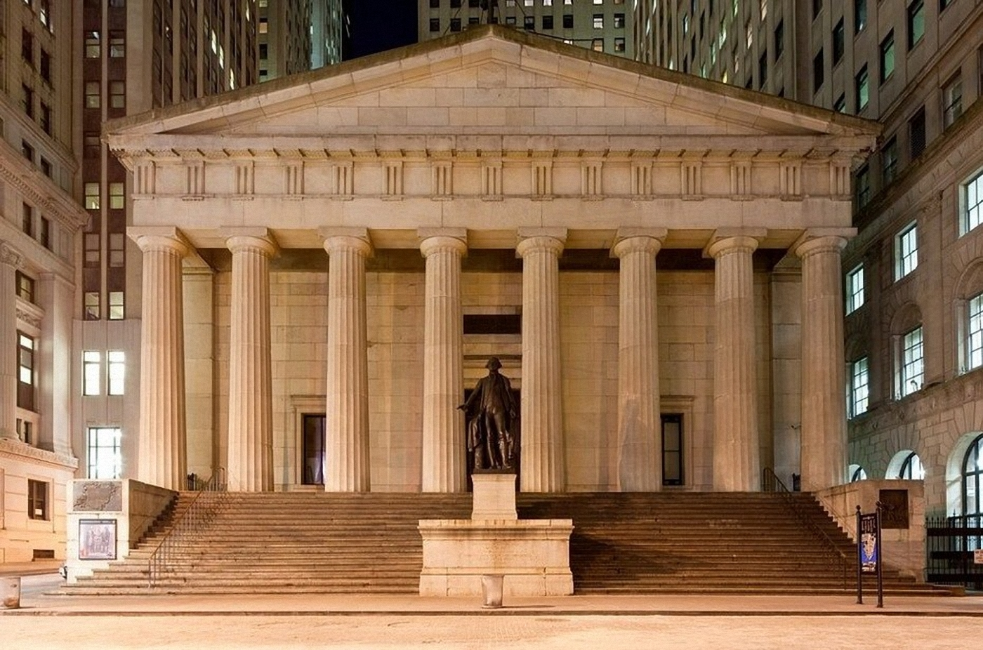 Federal Hall National Memorial in NYC