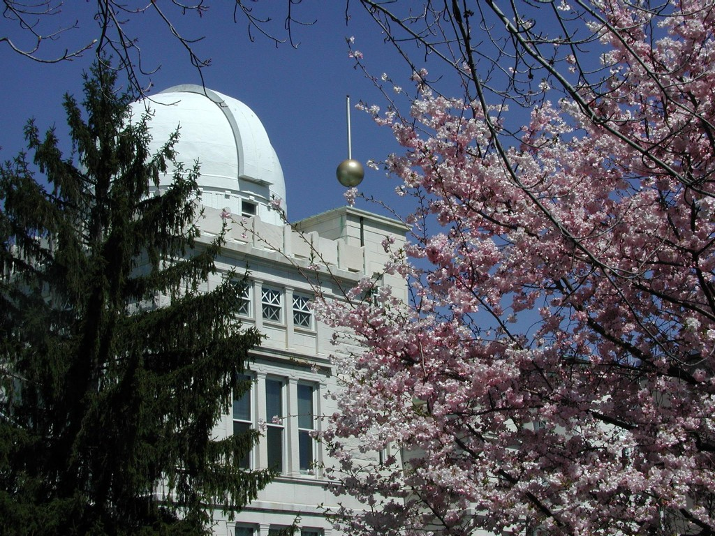 U.S. Naval Observatory in Washington, D.C. (note the silver time ball)