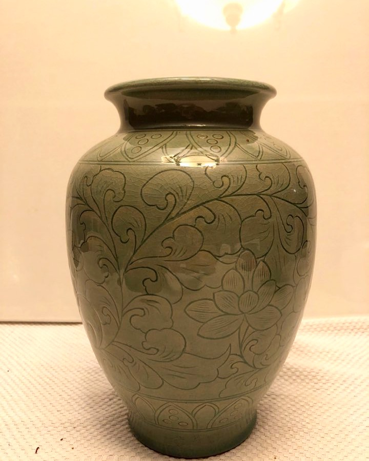 2018 | celadon glaze, ceramic pots