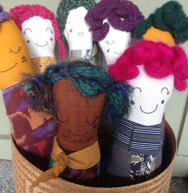 Raya Rag Dolls coming your way this weekend! Come check them out at our @westelmseattle pop up on Sunday.