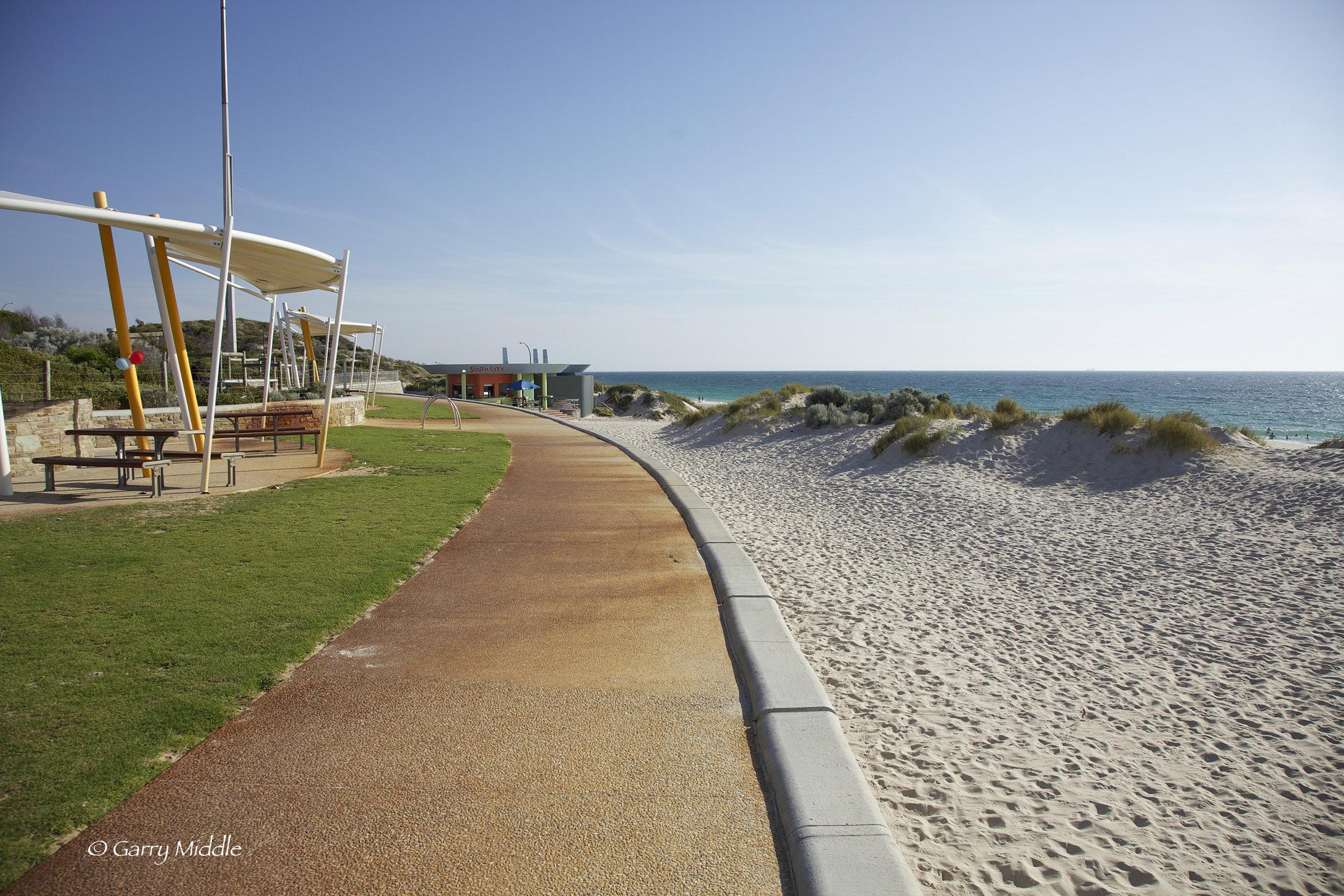 Plate 2: Concrete path - City Beach