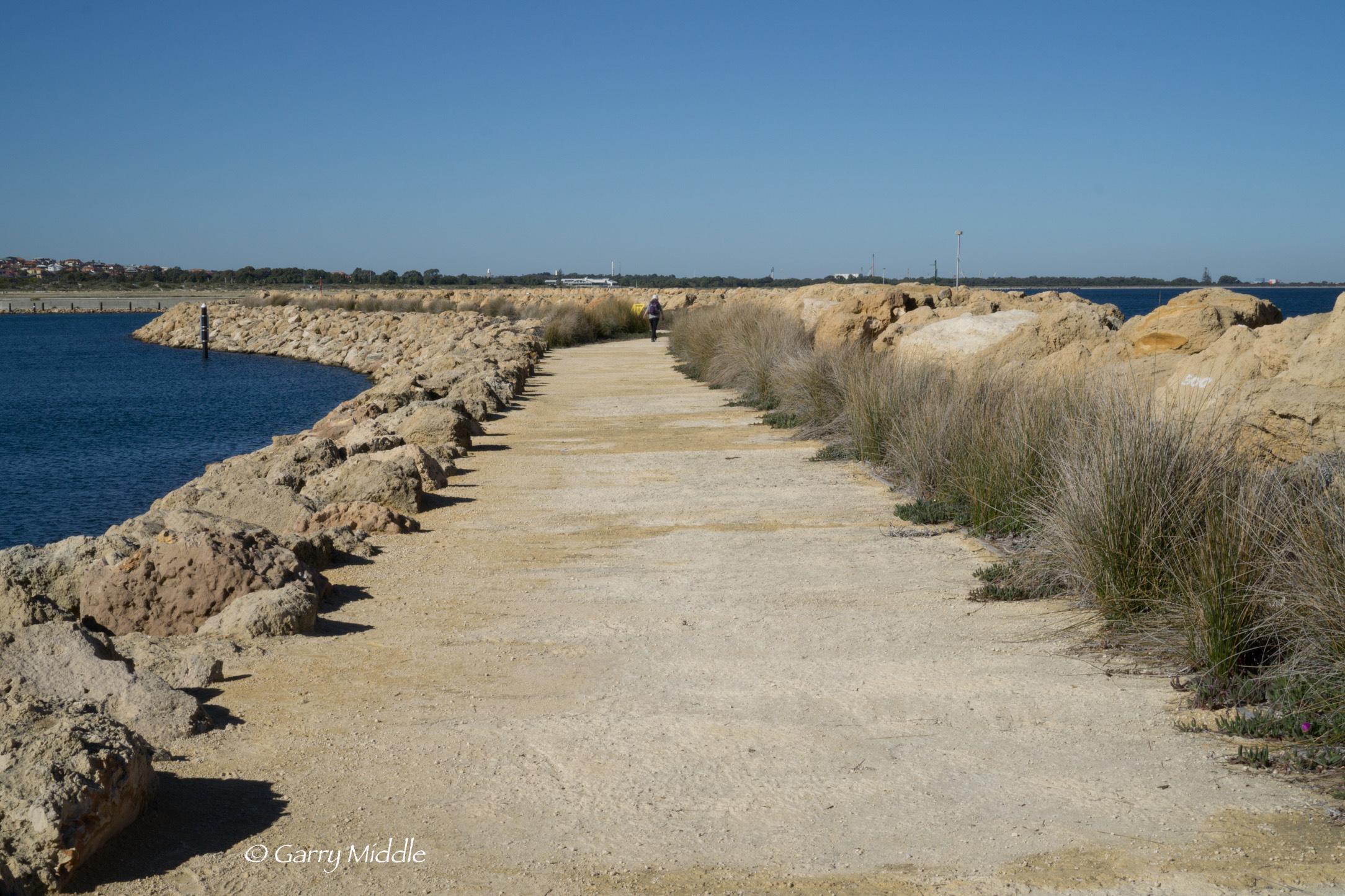 Plate 3: Crushed limestone track – Cockburn Marina