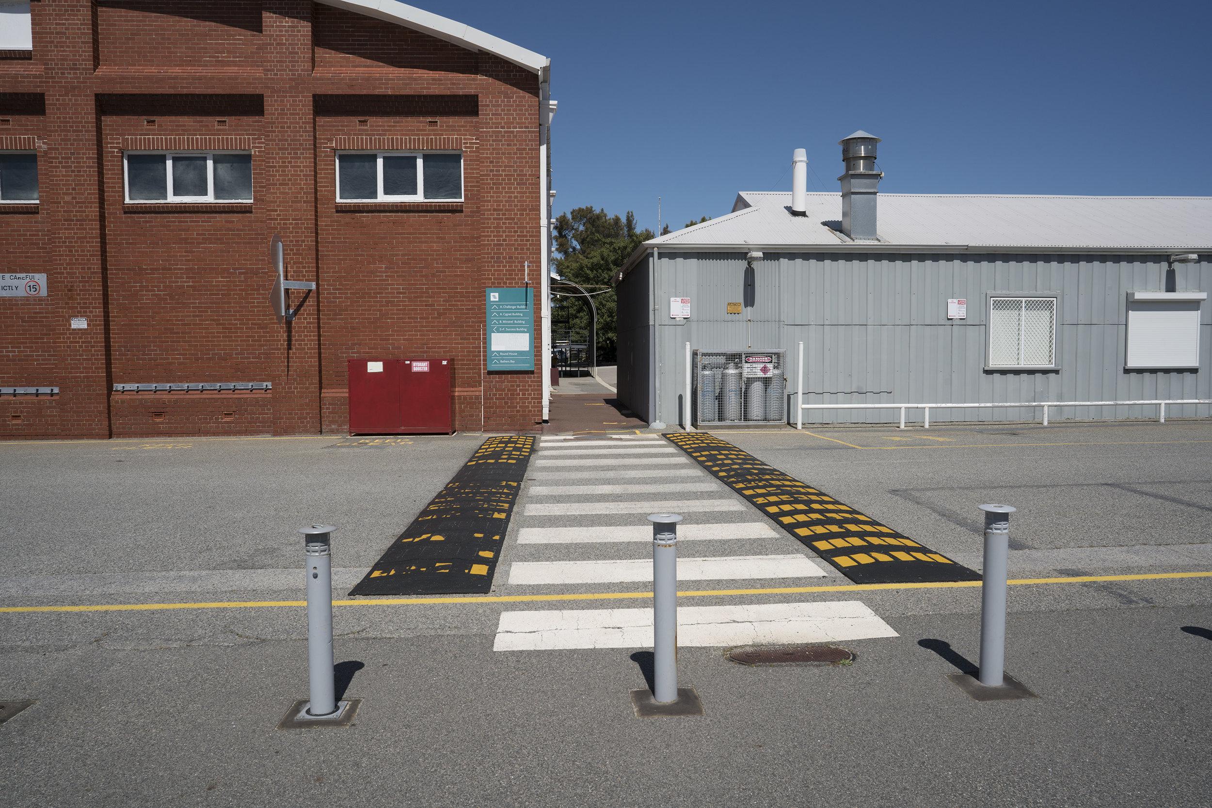 Plate 6: The paths through Maritime Training Centre