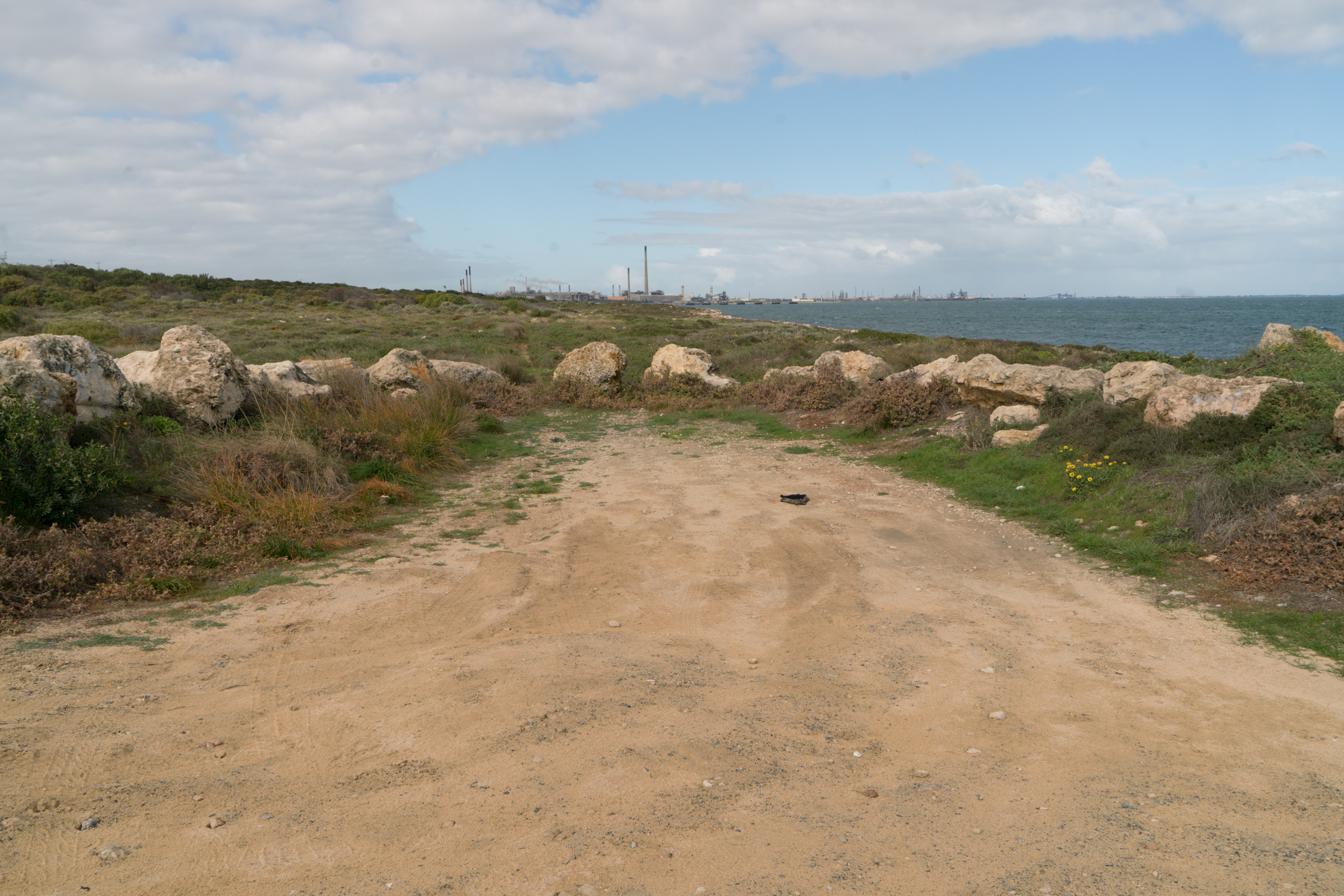 Plates 8: The track though Beeliar Regional Park heading south