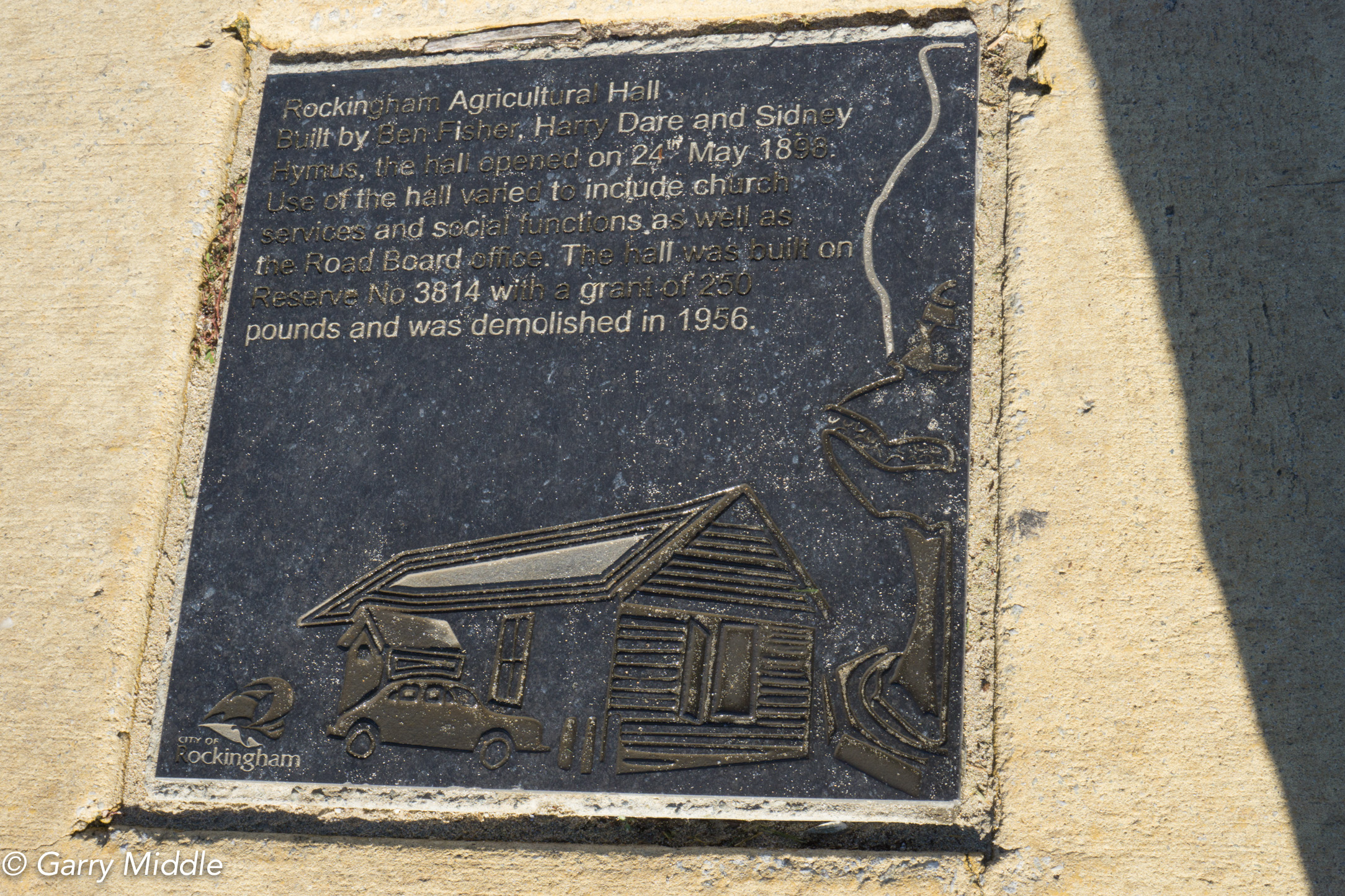 Plates 5: Historic Plaques in the path adjacent to the Rockingham Beach Foreshore
