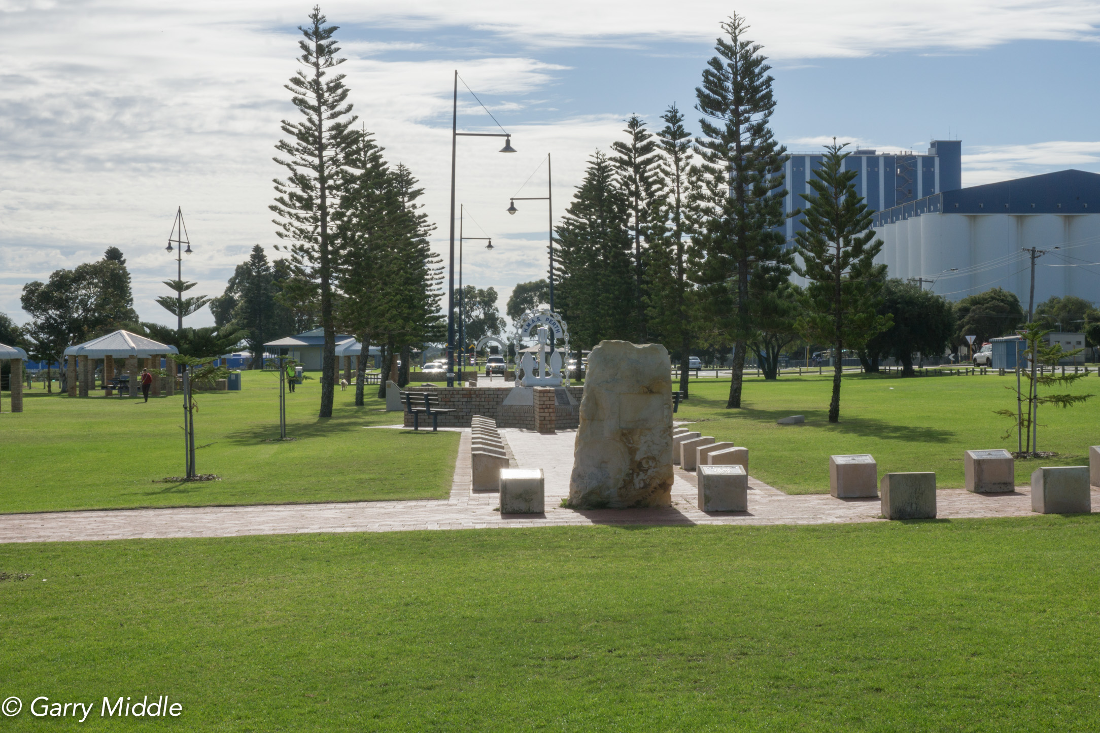 Plate 14: Naval Memorial Park in Governor Road reserve