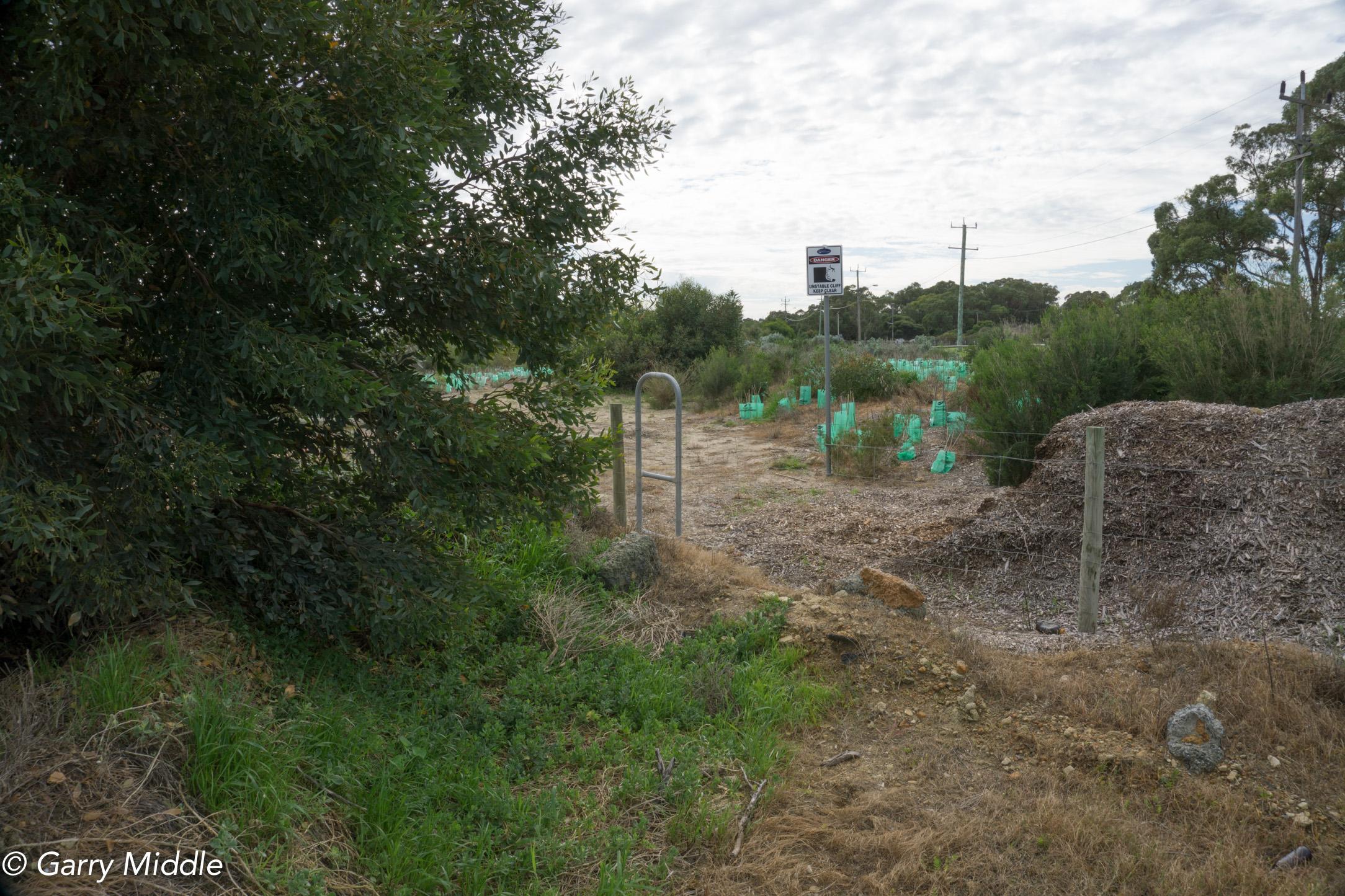 Plate 21: Access gate