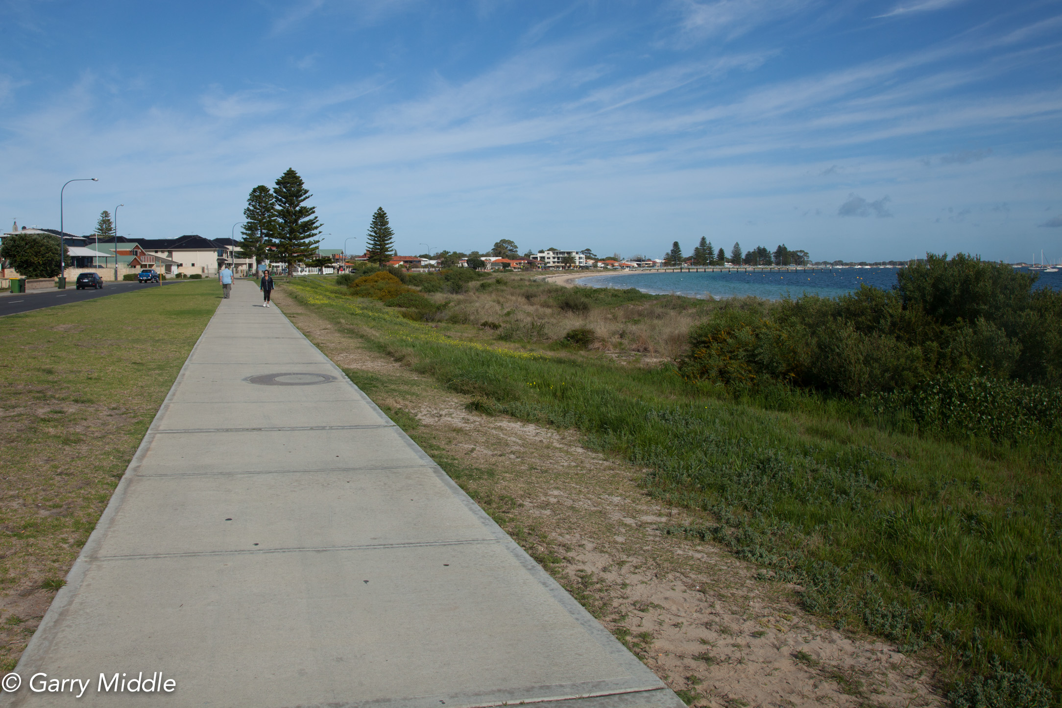 Plate 2: Path along Palm Beach foreshore