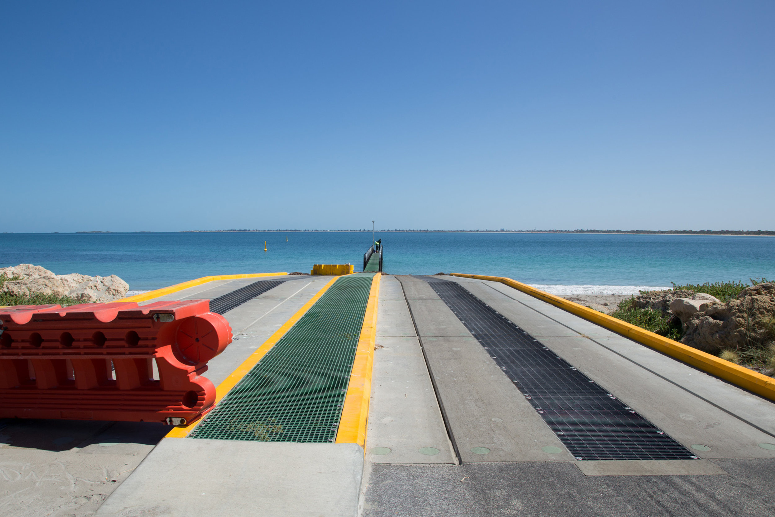 Plate 6: Boat launching ramp at the Port Kennedy resort.