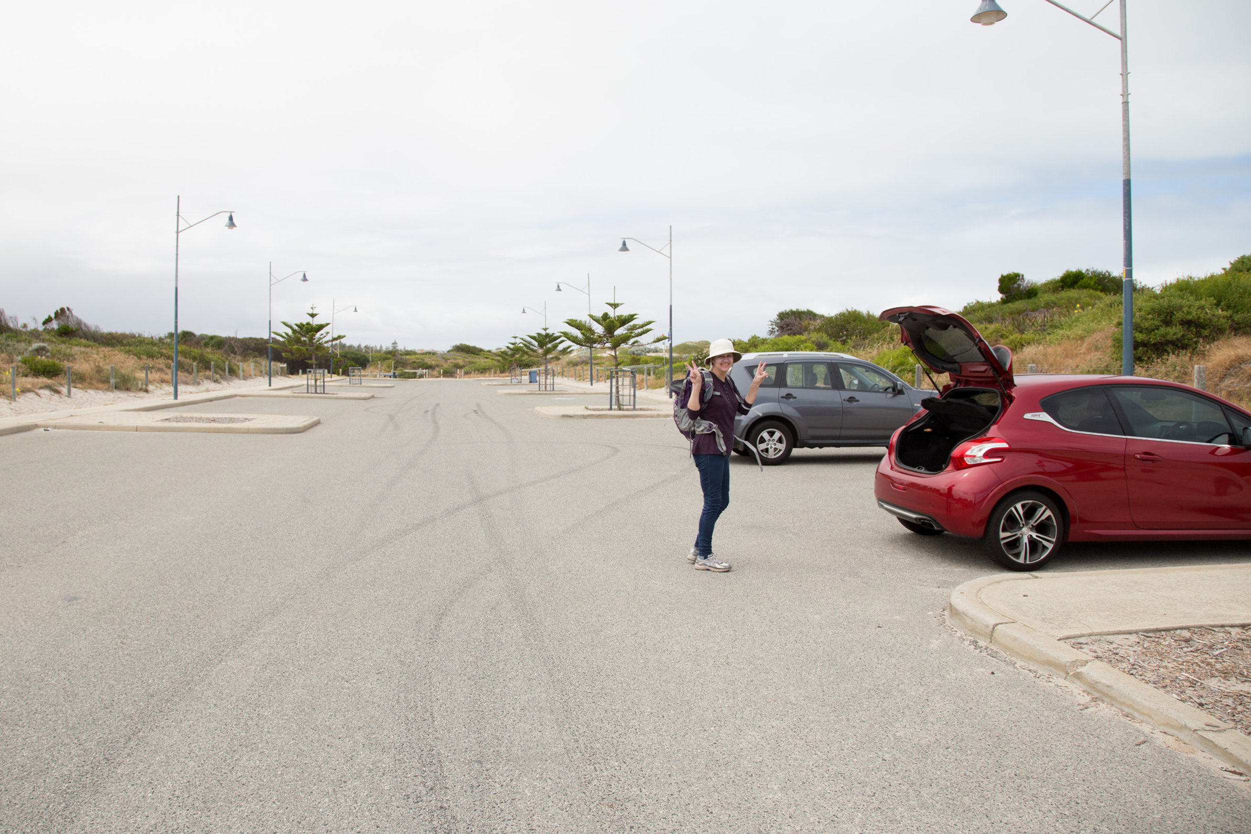 Plate 1: Carpark at the end of Siracusa Court.