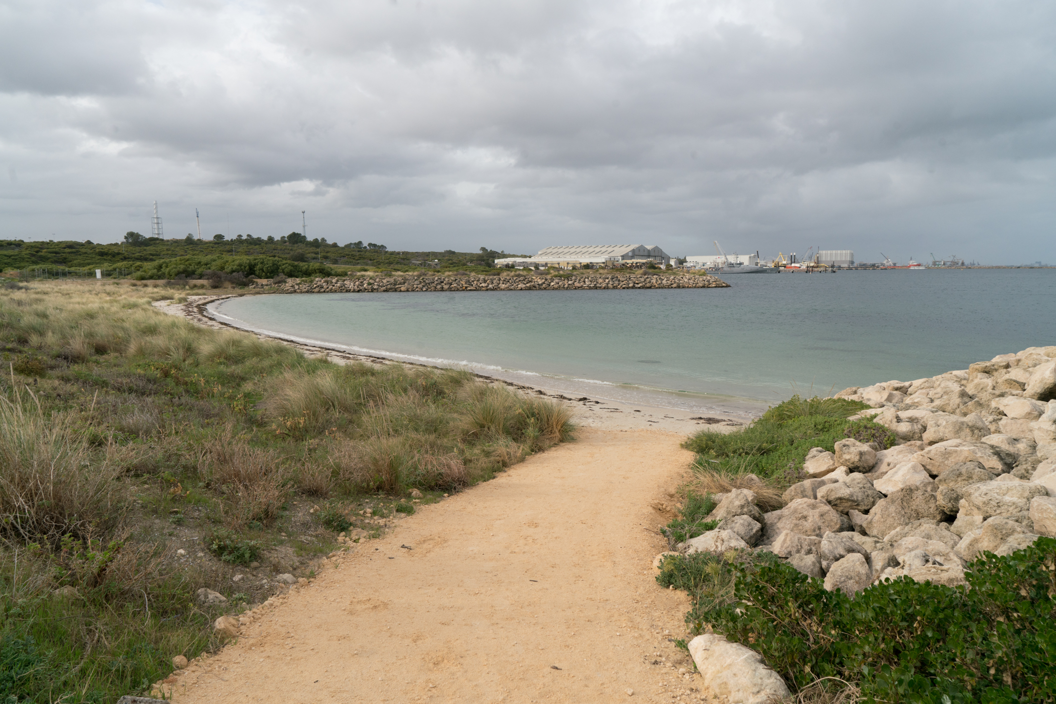 Plate 15: Beach walk and Rock Groyne