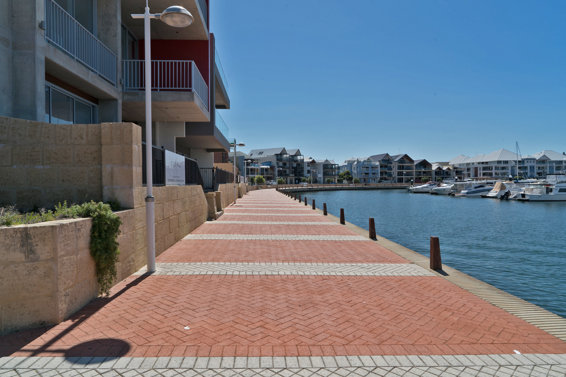 Plate 8: Path along the waterfront