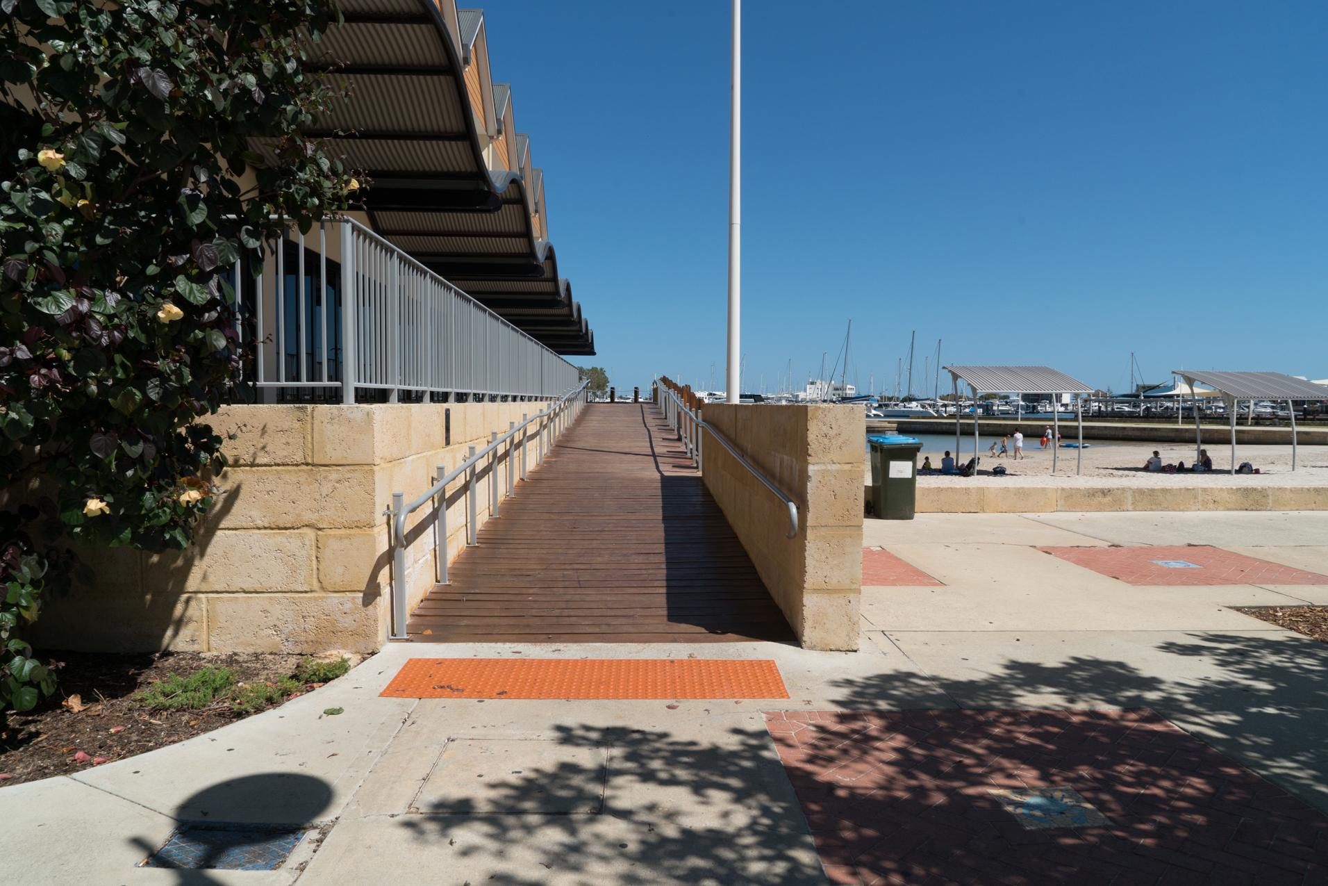 Plate 1: Boardwalk near the start