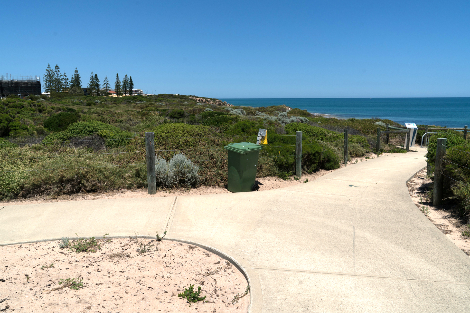 Plate 11: End of Seascapes Interpretive Walkway – the turn around point