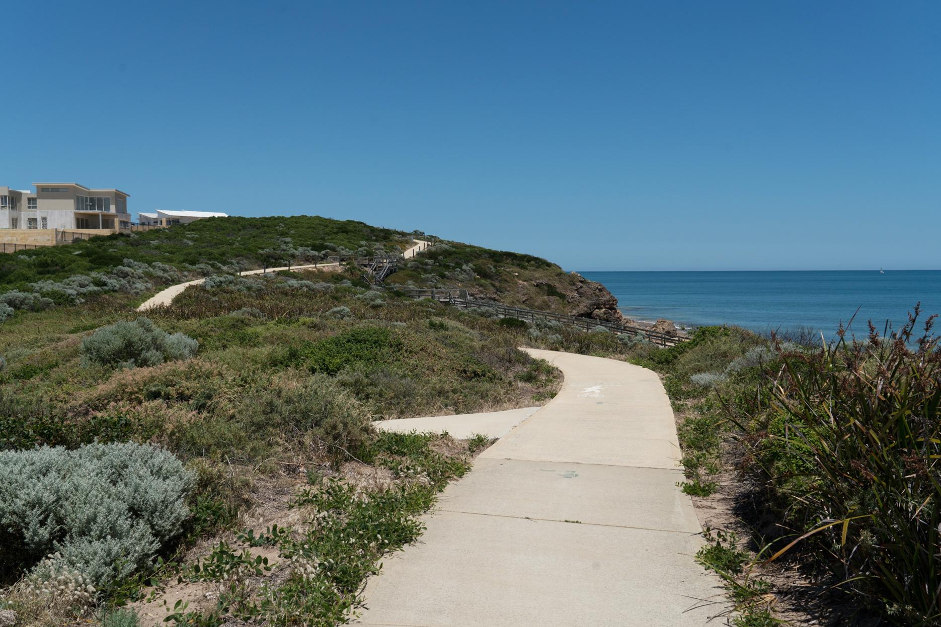 Plate 4: Views along the coastal path