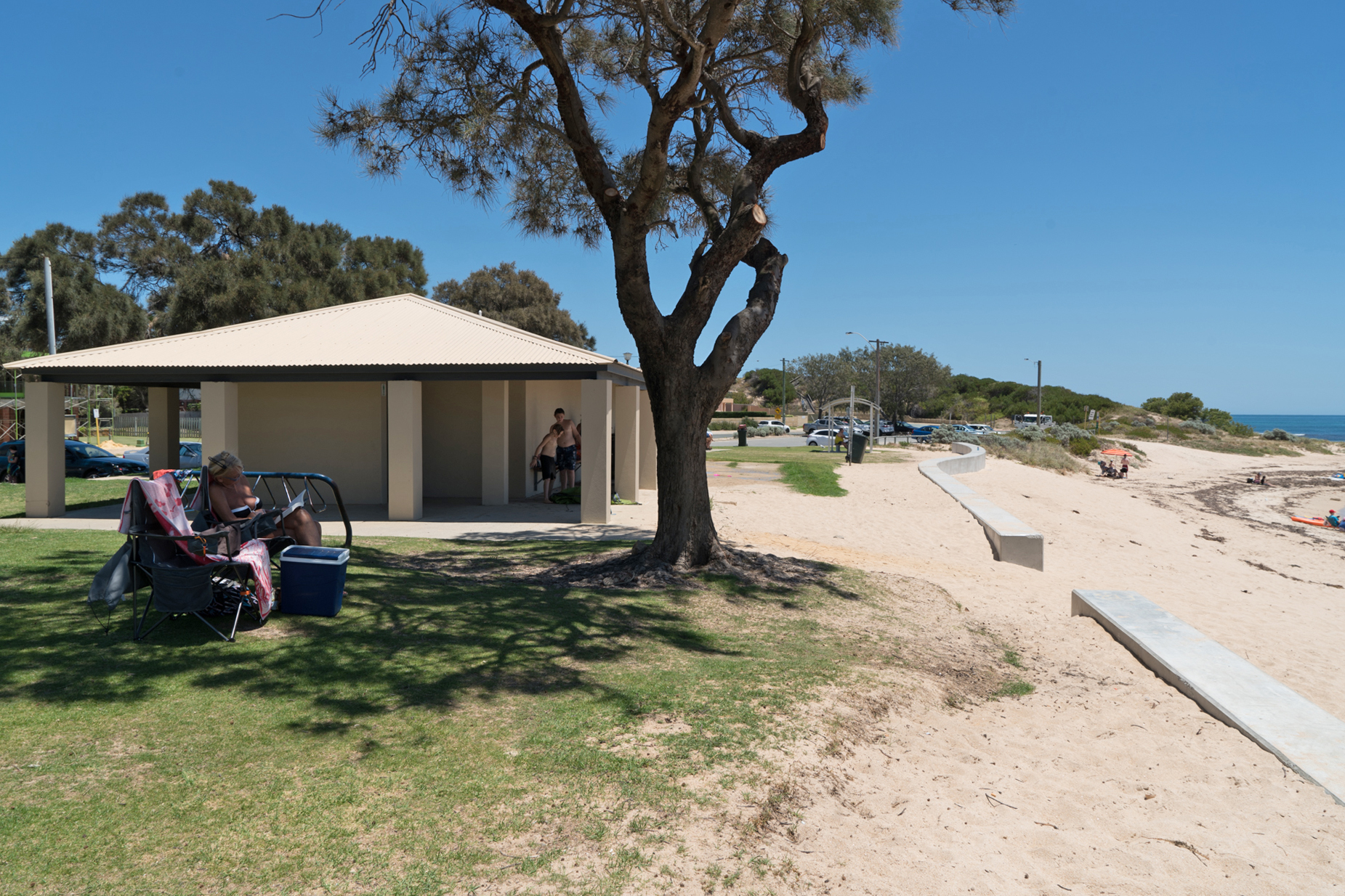 Plate 11: Falcon Bay Beach – the turn around point