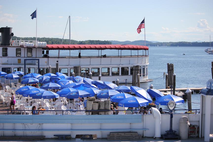 Restaurant on Lake Champlain