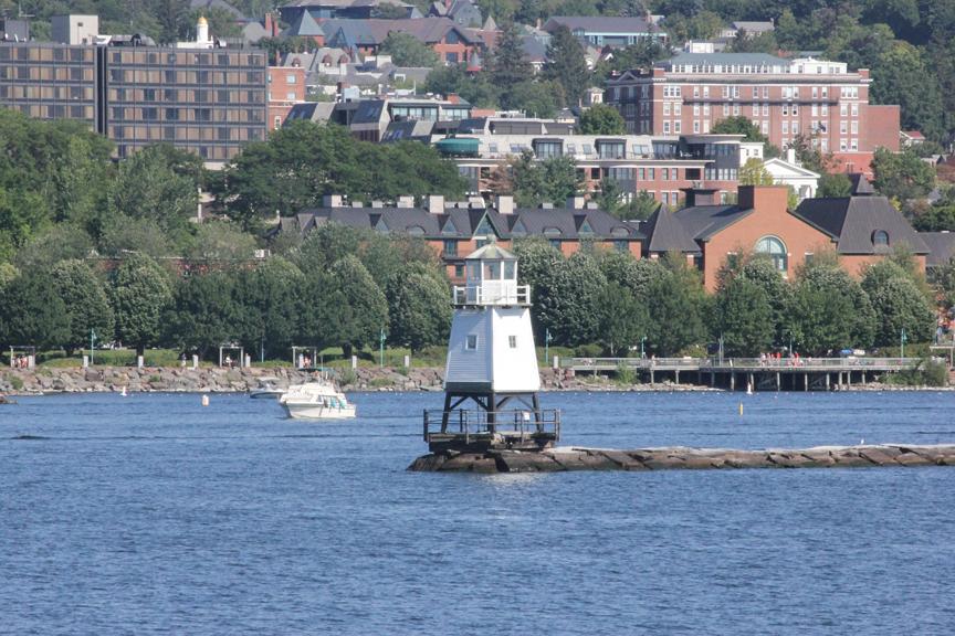 Burlington from the Lake