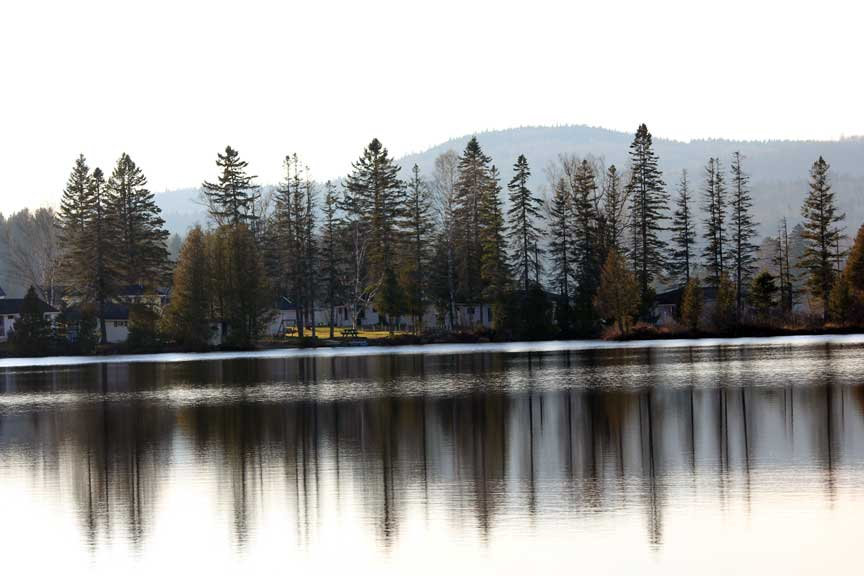 Joes's Pond in Winter, Danville