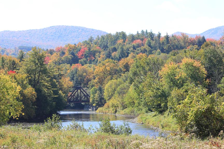 Bridge on Lamoille River, Johnson