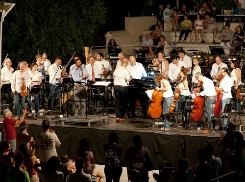 With the Cyprus Symphony Orchestra