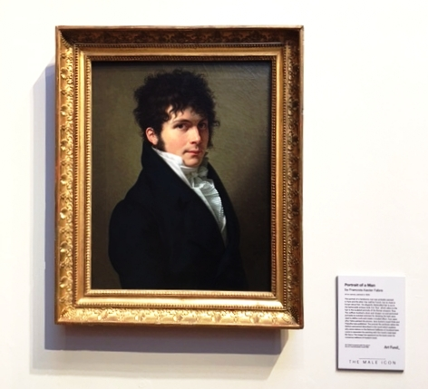 Mr. Darcy, of Pride and Prejudice fame, hung in a Scottish gallery. (Unfortunately I was jet-lagged and can't recall which one. ) He wasn't that great with emotions either....but he improved after the charming elizabeth helped him see the blind spot.
