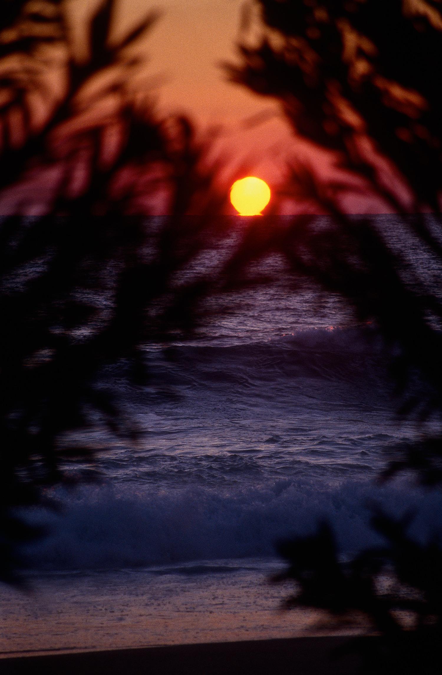 Sunset time at Alanya, Turkey