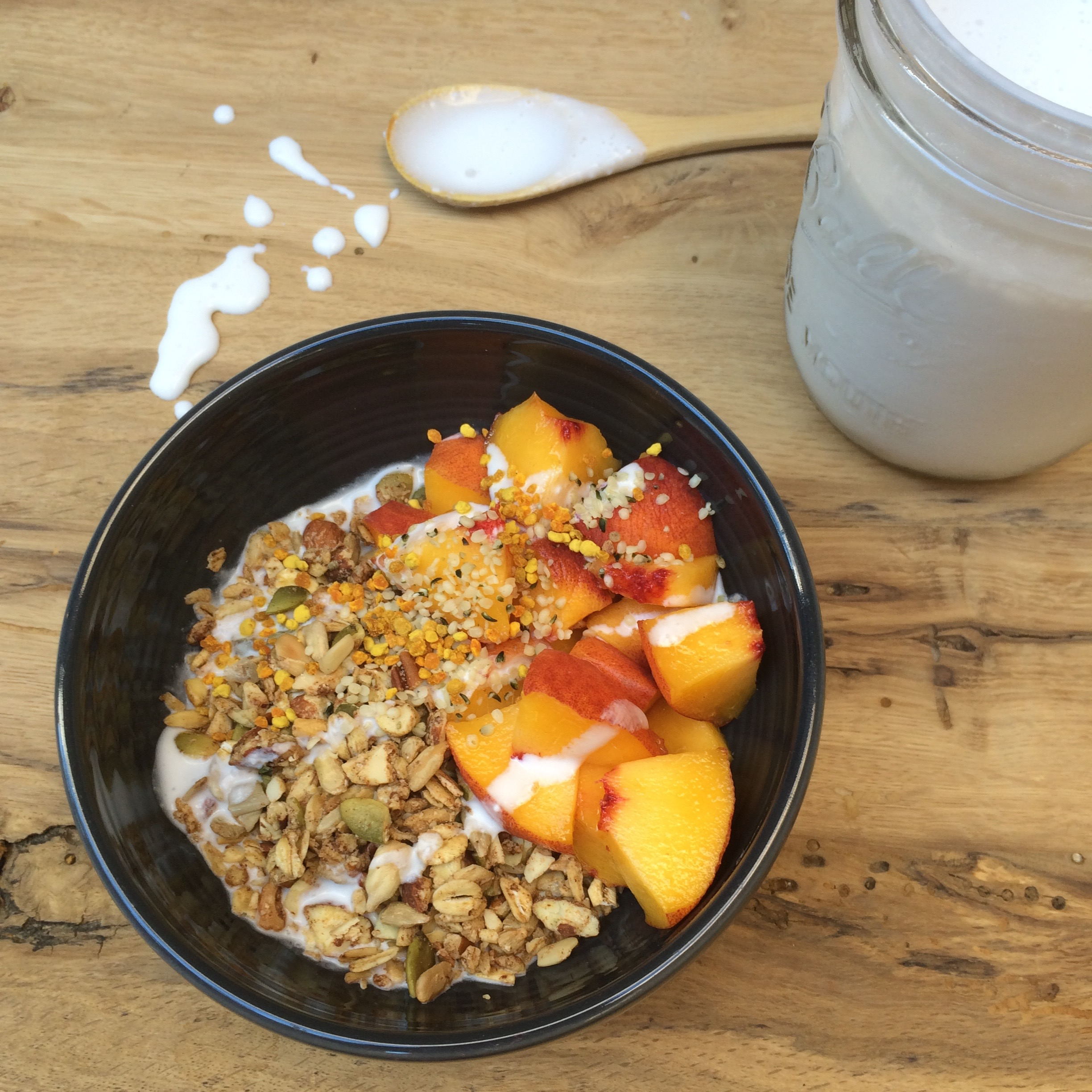 Granola with Coconut Yogurt
