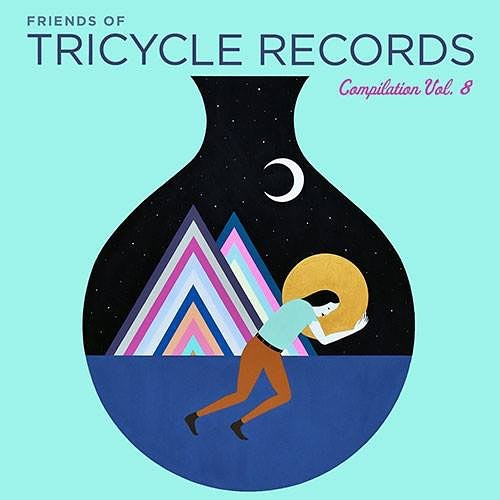 "Heaps of talent on this year's @tricyclerecords comp /// chuffed to have been included! My song ""Everybody Wants To Shake Your Hand"" features @andrewstjames on organ and riffs on the hoax of fame, and death as the great equalizer. Artwork by @adrianlandonbrooks //// in the company of other local greats @lapelsings @geographermusic @goodnighttexas"
