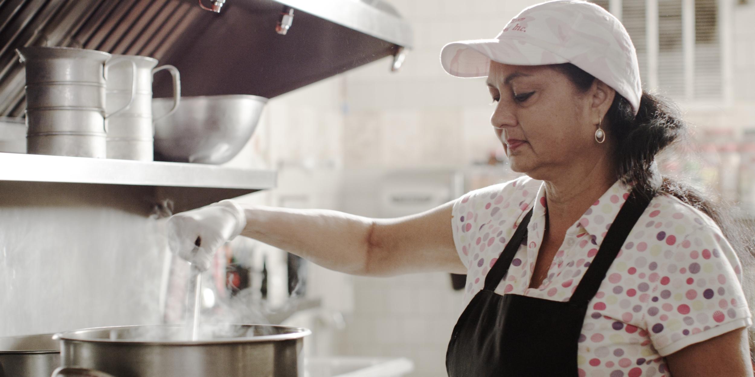 Isha Cooking