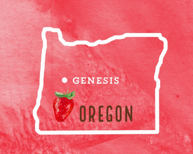 We work directly with Oregon strawberry farmers.